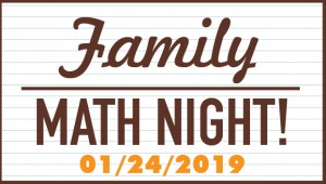 Event: Family Math Night
