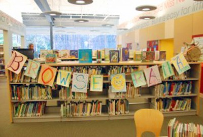 Featured News: Browse-O-Rama Initiative Featured in School Library Journal: