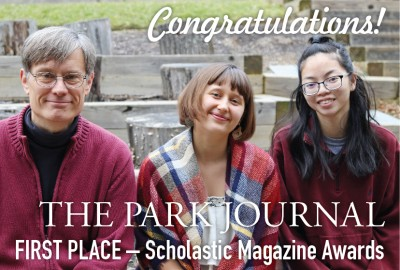 News: Park Journal Awarded First Place by the American Scholastic Press Association