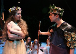 Photo: The 2012 Freshman/Sophmore Production of Midsummer Night's Dream