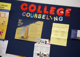 Photo: The <strong>College Counseling</strong> office provides students and their parents with resources for selecting the colleges that best meet the students' interests, needs, and goals.