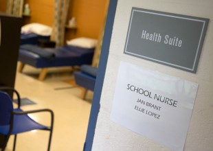 Photo: The purpose of <strong>Health Services</strong> is to maintain, improve, and promote the  health of the school age child. The school employs a registered nurse, Jan Brant, who is  available in the Health Suite Monday - Friday, 8:15 am to 4:00 pm.