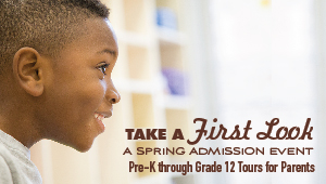 Event: Take a First Look - Tours with Principals