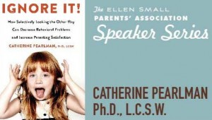 Event: Parents' Association Opening Meeting and Speaker Catherine Pearlman