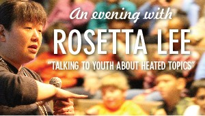 Event: Parents' Association Speaker - Rosetta Lee