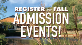 Image: Fall Admission Events!