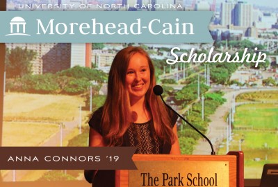 News: Senior Anna Connors Selected as a University of North Carolina Morehead-Cain Scholar