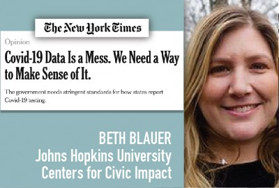 News: Park Parent Beth Blauer Publishes Op-Ed in New York Times on Covid Data