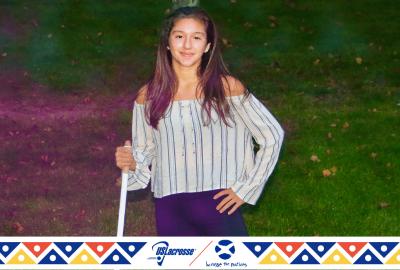 News: Cassandra Kitchen '24 Featured in US Lacrosse Hispanic Heritage Month Celebration