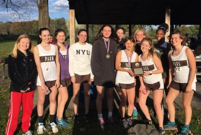 News: Girls' Varsity Cross Country Wins IAAM Championship