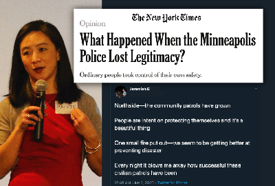 News: Park Parent Dr. Hahrie Han Publishes Op-Ed in New York Times on Minneapolis Community Defenders