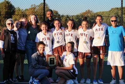 News: Girls' Varsity Tennis Wins Three Individual Championships