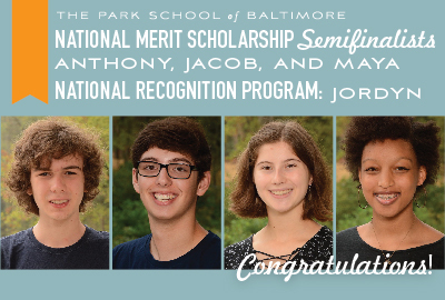 Featured News: Four Garner Recognition from 2021 National Merit Scholarship Program and College Board