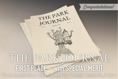 News: Park Journal Awarded First Place with Special Merit