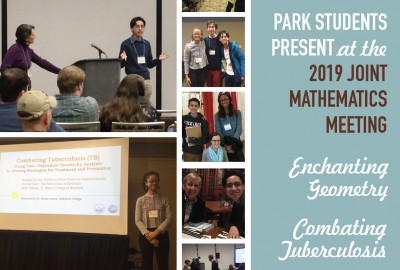 Featured News: Two Park Seniors Present at the 2019 Joint Mathematics Meeting in Baltimore