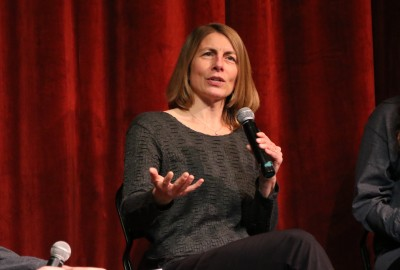 Featured News: Investigative Journalist Sacha Pfeiffer Addresses Students as 2018-19 Weinberg Resident Journalist
