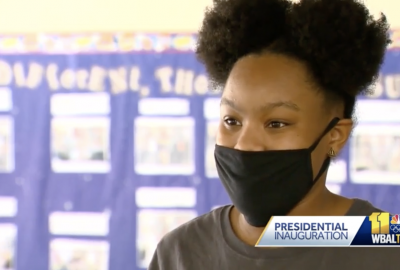 News: WBAL Interviews Students from the Upper School Black Female Forum