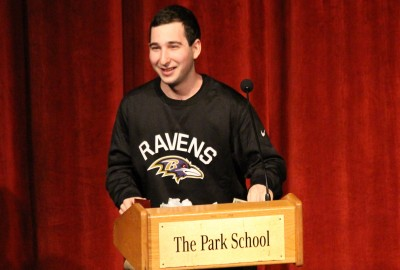 News: Park Alumnus Daniel Stern '12 Helps Give the Baltimore Ravens an Edge