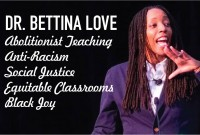 Featured News: Dr. Bettina Love, Award-Winning Author and Professor of Education, Speaks with Park Faculty and Staff