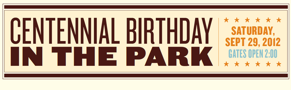 Centennial Birthday in the Park