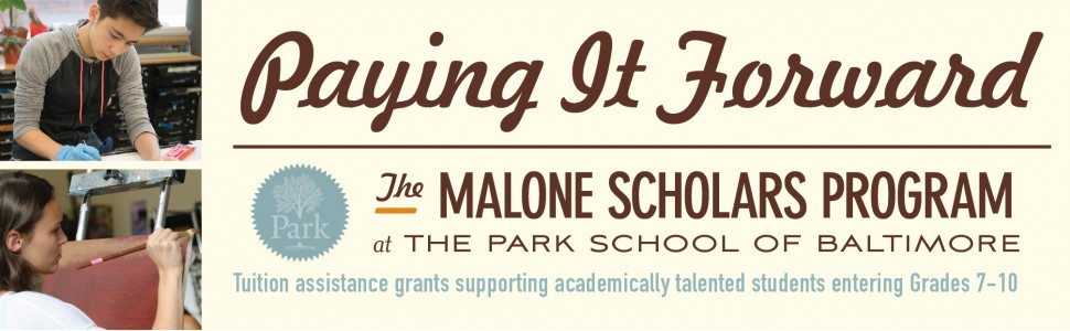 The Malone Scholars Program at Park