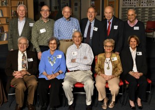 Photo: Class of 1948 with Head of School Dan Paradis marking their 70th Reunion