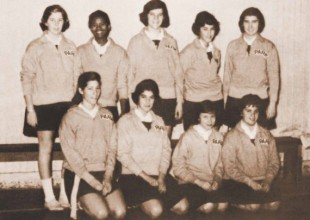 Photo: 1959: Park's Girls' Junior Varsity Basketball team was the first integrated independent school squad – in any sport – in Baltimore.