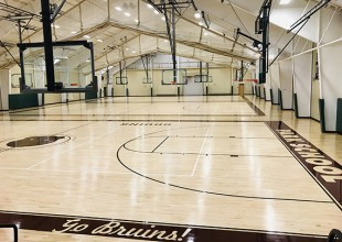 Photo: The courts are ideal for practices, games, clinics, summer athletic camps, and tournaments of all sizes. The courts are currently being utilized by basketball, volleyball, soccer, and futsol groups, but the possibilities are endless.