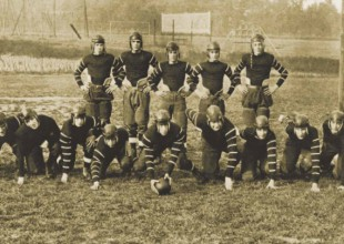 Photo: 1925: From 1920-1926, Park School fielded a football team. Gardner Mallonee introduced soccer in 1930.