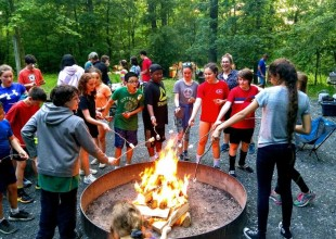 Photo: Outdoor education trips at Park aim to strengthen the social, emotional, moral, and practical dimensions of each student's character, simultaneously providing opportunities to extend classroom learning.