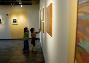 Photo: The Richman Gallery features work by students and professional artists in themed exhibitions.