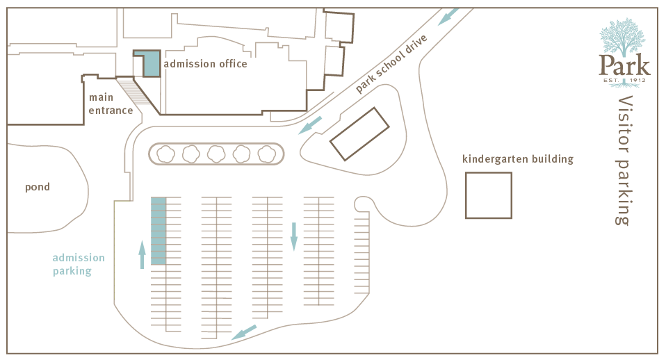 Admission Parking Map
